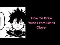 How to draw Yuno (Black Clover)