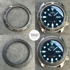 Tired of your old #SKX007 look? Choose from a vast selection of high quality Ceramic Bezel Inserts, Sapphire Double Dome Crystal and Hands Sets from DLW. DM us now to order! -- Horology Matters is the EXCLUSIVE DEALER of @dlw.watches High Quality Watch Modification Parts in the Philippines 🇵🇭 -- CHOOSE QUALITY -- visit www.horologymatters.com - #seikoholic #wristporn #watchporn#watchesofinstagram #instawatch #seikosumo#watch #watches #timepiece #seikojdm#wristwatch #wristwatches #sbdc033#sei Casual Watches, Watches For Men, Seiko Skx007 Mod, Seiko Sumo, Tourbillon Watch, Seiko Diver, Seiko Watches, Automatic Watch, Luxury Watches