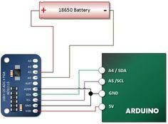 Arduino ADS1115 Differential Voltmeter