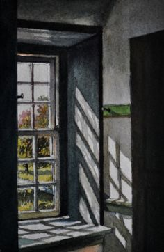 2012 Window Study #2, painting by artist Andy Smith