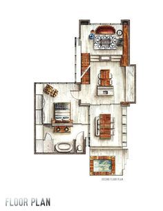 Interior Design Portfolio by Adrie Costanza