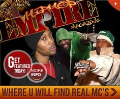 Get Featured In Hip Hop Empire Magazine Today!