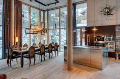 We love this Loft design at The Backstage Loft — Zermatt, Switzerland, Luxury Ski Chalets, Ski Boutique