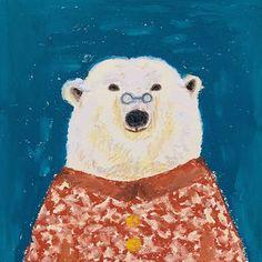Polar Bear, Animals, Fictional Characters, Art, Art Background, Animales, Animaux, Kunst, Animal