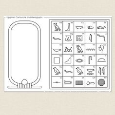 hieroglyphics for kids crafts art projects ~ hieroglyphics projects for kids . hieroglyphics for kids crafts art projects Ancient Egypt Activities, Ancient Egypt Crafts, Ancient Egypt For Kids, Egyptian Crafts, Egyptian Party, Ancient Egypt Lessons, Egyptian Jewelry, Ancient Aliens, Ancient Greece