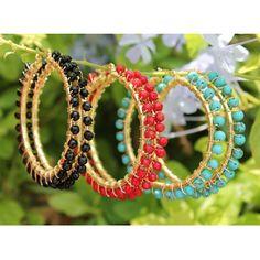 Copper Jewelry, Wire Jewelry, Jewelry Crafts, Beaded Jewelry, Ethnic Jewelry, Unique Earrings, Bead Earrings, Earrings Handmade, Handmade Jewelry
