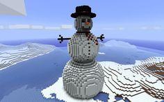 Top 4 Minecraft Snow Village Seeds for 2015 Minecraft Christmas, Pisa, Seeds, Tower, Minecraft Ideas, Snow, Building, Outdoor Decor, Rook