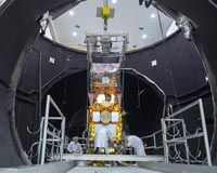 Paris (ESA) Jul 19, 2016 While most of us may be looking forward to spending some time in the sunshine this summer, the Sentinel-2B satellite is being subjected to the extreme cold of space to make sure it is fit for life in orbit. Sentinel-2B will be the next satellite launched for Europe's environmental Copernicus programme. In 2017, it will join its identical twin, S…