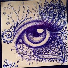 ballpoint pen doodles - Google Search: