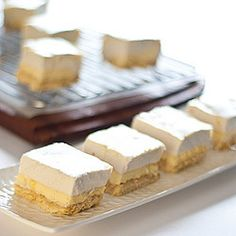 Lemon Marshmallow Slice - healthy, gluten-free & low FODMAP