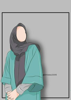Cartoon Wallpaper, Wallpaper Backgrounds, Muslim Girls, Muslim Couples, Wedding Caricature, Hijab Drawing, Anime Muslim, Hijab Cartoon, Girly Pictures