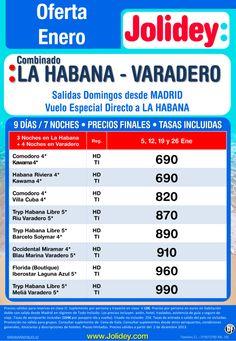 Oferta Enero Combi La Habana - Varadero desde 690€ Tax incl. Salidas 2, 12, 19 y 26 ultimo minuto - http://zocotours.com/oferta-enero-combi-la-habana-varadero-desde-690e-tax-incl-salidas-2-12-19-y-26-ultimo-minuto/