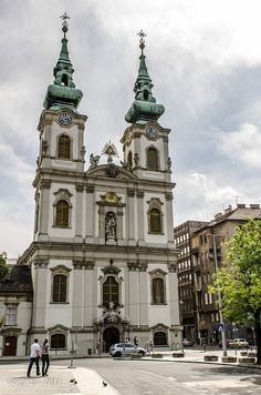Church of St. Anna, Budapest, Hungary