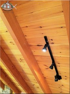 "Kiln Dried Eastern White Pine 1""x6"" T&G on an exposed heavy timber vaulted roof system"