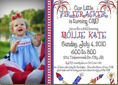 cool free template fourth of july birthday invitations baby shower