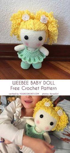Mesmerizing Crochet an Amigurumi Rabbit Ideas. Lovely Crochet an Amigurumi Rabbit Ideas. Crochet Gratis, Cute Crochet, Crochet Toys, Crochet Baby, Crochet Beanie, Crochet Cardigan, Crochet Dolls Free Patterns, Amigurumi Patterns, Knitting Patterns