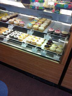 Tizzerts inside Suarez Bakery Charlotte, NC Cutte little cupcakes!