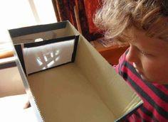 Making a camera obscura DIY