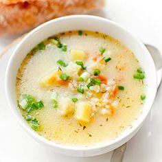 Polish Recipes, New Recipes, Soup Recipes, Cooking Recipes, Favorite Recipes, Healthy Recipes, Polish Food, Low Calorie Recipes, Healthy Soup