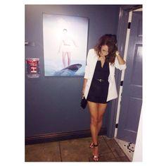 Danielle last night