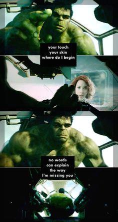 #brutasha #hulkwidow #brucenat Marvel Avengers, Marvel Comics, Black Widow And Hulk, Bruce Banner, Spideypool, Living Legends, Natasha Romanoff, Incredible Hulk, Marvel Characters