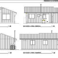 Tradicional Plano de casa de 43.5 m2 con 2 dormitorios Florida Home, Floor Plans, House, Irene, Log Projects, Shape, Two Story Houses, Modern Home Plans, Modular Homes