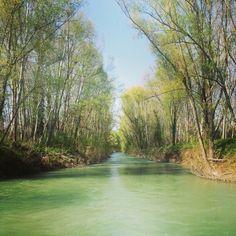 I follow rivers
