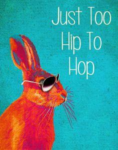 Bunny got swag