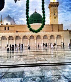 Al Masjid An Nabawi, Masjid Al Haram, Pilgrimage To Mecca, Medina Mosque, Green Dome, Islamic Images, Islamic Quotes, Mekkah, Islamic Wallpaper
