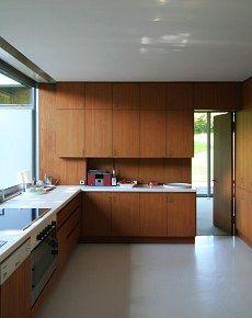 Richard Neutra's Pescher House, 1968. Wuppertal, Germany.