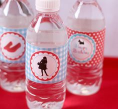 Printable bottle labels for Wizard of Oz Party