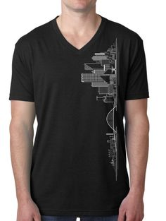 Milwaukee Skyline TShirt by EnfinitiDesign on Etsy, $25.00