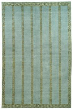 TOB852D-Marco Rug from Thomas O'Brien collection.  Marco demonstrates the very intricate linear detail that inhabits the geometric designs of carpets in O'Brien's new collection for Safavieh. Here a wid
