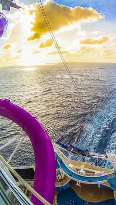 Harmony of the Seas | Take the exhilarating 10-story fall aboard The Ultimate Abyss, the tallest slide at sea. Discover your next epic adventure aboard Harmony of the Seas this year. Photo by Cody G.