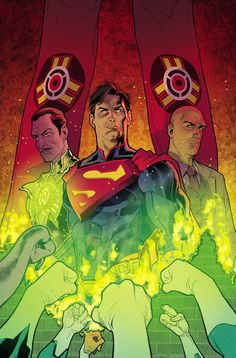 INJUSTICE: GODS AMONG US YEAR TWO #9 Written by TOM TAYLOR Art by BRUNO REDONDO and others Cover by STEPHANE ROUX On sale AUGUST 13 • 32 pg, FC, $2.99 US • RATED T • DIGITAL FIRST A powerful force of Green Lanterns, Sinestro Corps members and Guardians assaults Superman and his allies, while Gordon and the Birds of Prey attack the Hall of Justice. Meanwhile, in the Batcave, Black Canary prepares for what may be the riskiest confrontation of all.
