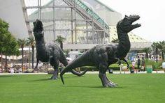 #allosaurs(?) at #Changzhou #Dinosaur Park, #China