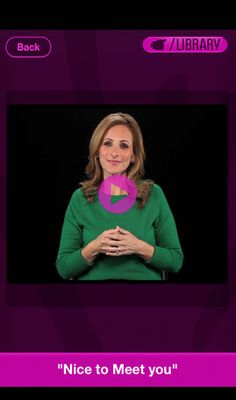 Marlee Signs - Learn American Sign Language With Marlee Matlin ($0.00).... This woman is an amazing person! Great actress and idol for me!