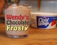 Wendy's Chocolate Frosty – 3 Ingredient Clone Recipe!
