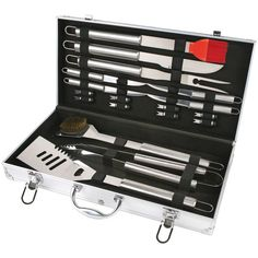 18Pc Stainless Steel Bbq