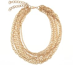 Send the Trend Mara Mesh Chain Necklace
