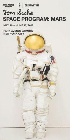 Tom Sachs Space Program, 2012.
