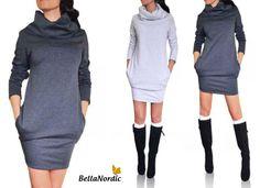 ❤❤ FASHION & NEWS ❤❤ ❤ I dag har vi fået flere skønne nyheder i shoppen ❤ Vores nye kjole er super lækker ❤ Fås i 2 flotte farver ❤ Hvad synes du om den? Mørk grå: http://bellanordic.dk/product/kjole-491/ Lys grå: http://bellanordic.dk/product/kjole-492/