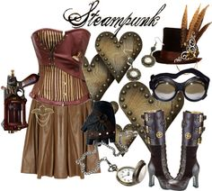"""1. Steampunk"" by princesschandler ❤ liked on Polyvore"