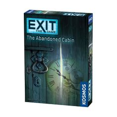 Exit: The Abandoned Cabin Board Game $21