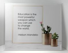 Learning Skills, Skills To Learn, Nelson Mandela Quotes, Gadget World, Improve Communication, Teacher Hacks, Printable Quotes, Education Quotes, Famous Quotes