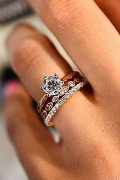 24 Top Round Engagement Rings ❤️ See more: http://www.weddingforward.com/round-engagement-rings/ #wedding #weddingring