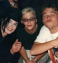 MJ and Leonardo Dicaprio