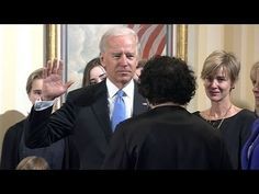 Biden takes oath of office at the at the Naval Observatory.