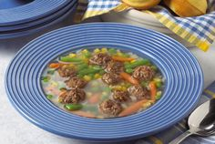 Quick and Easy Ground Beef Soup - Kidney-Friendly Recipes - DaVita Davita Recipes, Kidney Recipes, Healthy Recipes, Diet Recipes, Dieta Renal, Renal Diet, Low Potassium Recipes, Low Sodium Recipes, Kidney Friendly Diet