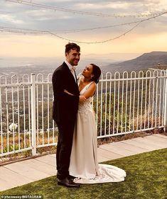 Miranda Tapsell & James Colley December 2018 Tie The Knots, Celebrity Weddings, December, Celebrities, Wedding Dresses, Fashion, Tying The Knots, Bride Dresses, Moda